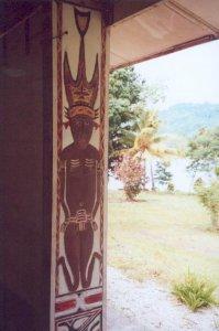 Eingang der Gedächtniskirche Wantoat