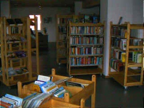 Bücherei innen