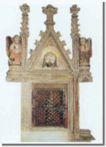 Sakramentsnische; gotisch vor 1450