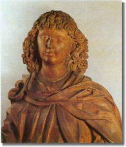 St. Veit, Lindenholzfigur um 1500