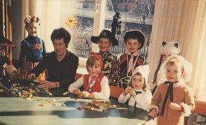 Fasching 1972 mit Tante Helga