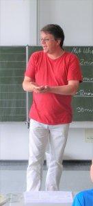 Albrecht Kessel im Religionsunterricht