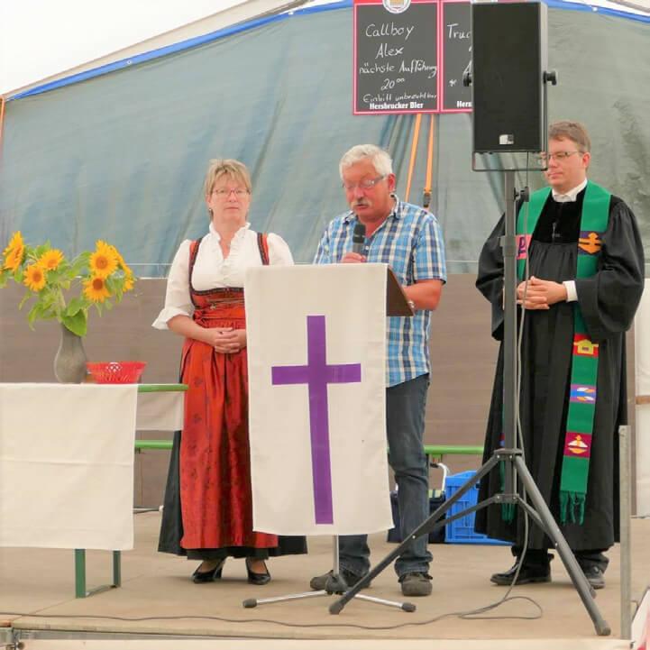 Zeltgottesdienst Weigenhofen