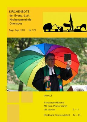 Kirchenbote August/September 2017