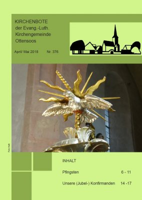 Kirchenbote April/Mai 2018