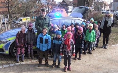 Besuch der Polizei