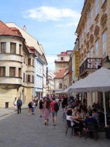 Straßenimpression Bratislava
