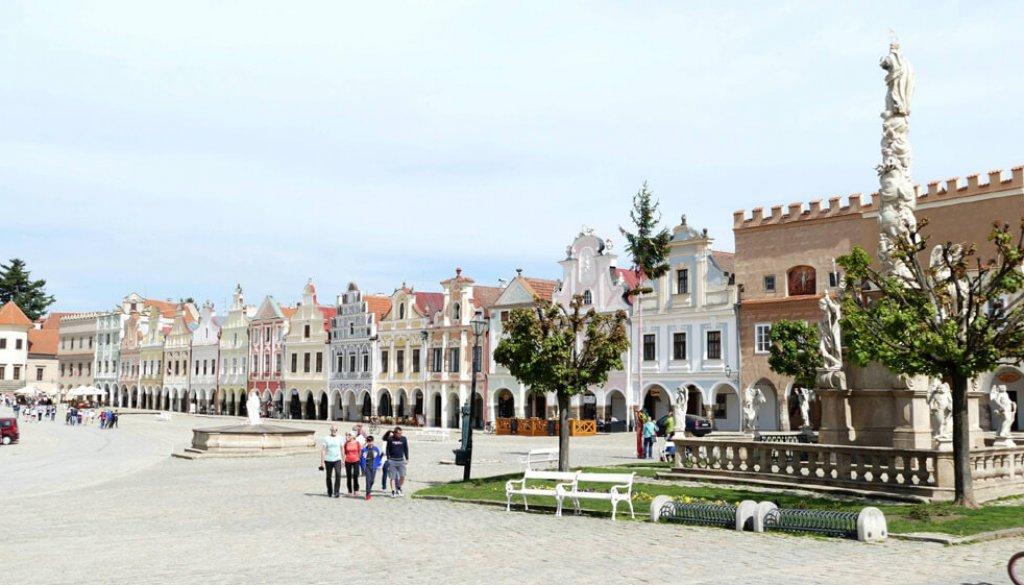 Marktplatz Telč