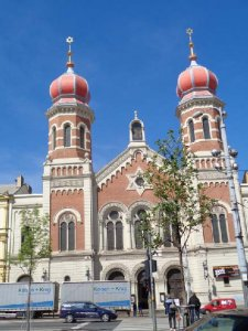 Synagoge in Pilsen