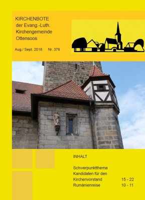 Kirchenbote August/September 2018