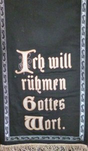 Liturgische Farben - Schwarz