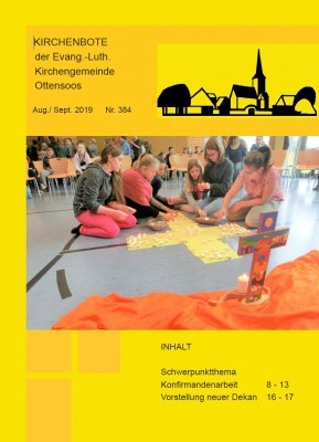 Kirchenbote August/September 2019