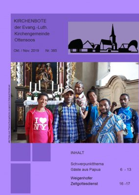Kirchenbote Oktober/November 2019
