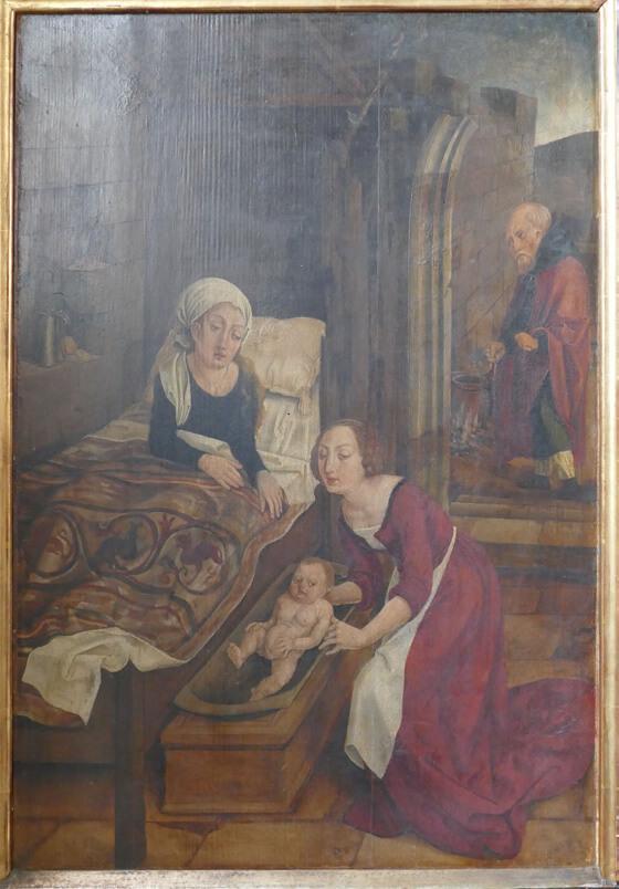 Geburt Mariens/hl. Anna im Wochenbett